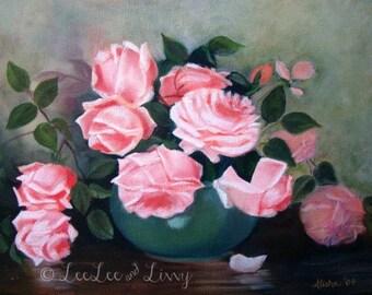Pink Roses Print (11x14)