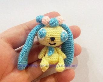 Sapphie jewelpet doll - PDF amigurumi crochet pattern