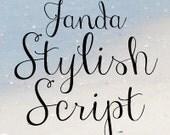 Janda Stylish Script Font (Commercial License for One User)