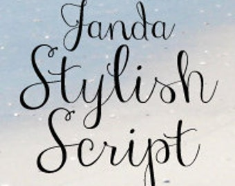 Janda Stylish Script Font (Commercial License for One User)