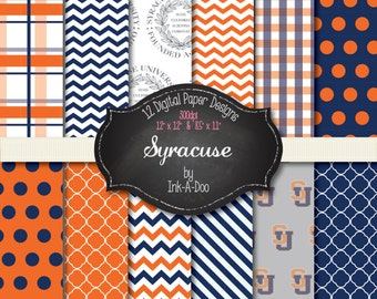 Syracuse digital papers - 12x12 and 8.5x11 300 dpi