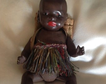 Black Doll of Ernst Heubach Bisque Doll