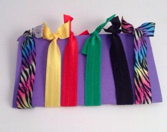 Trendy hair ties or bracelets