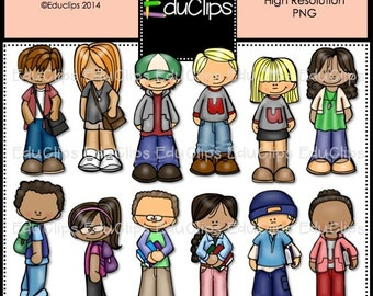 Tweens Clip Art Bundle