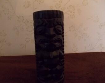 Ceramic Tiki Vase