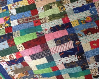 kids patchwork quilt #203