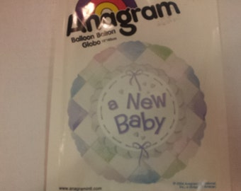 a new baby balloon,baby shower balloon,mylar balloon, party supplies