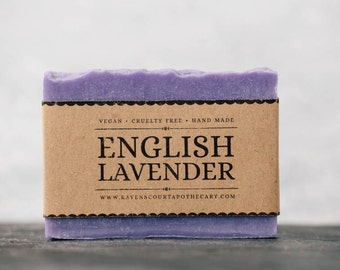 English Lavender Soap | Vegan Soap