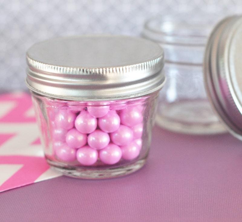Mini Mason Jar Wedding Favors 4 Oz Mason Jar Mini By