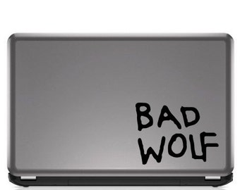 Dr. Who - Bad Wolf Decal
