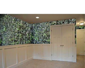 Stone Wall Removable Wallpaper