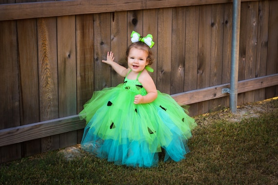 Flinstones Pebbles Tutu Dress available via InsideQuinnsCloset