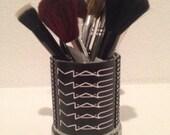 MAC Cosmetics inspired makeup brush holder