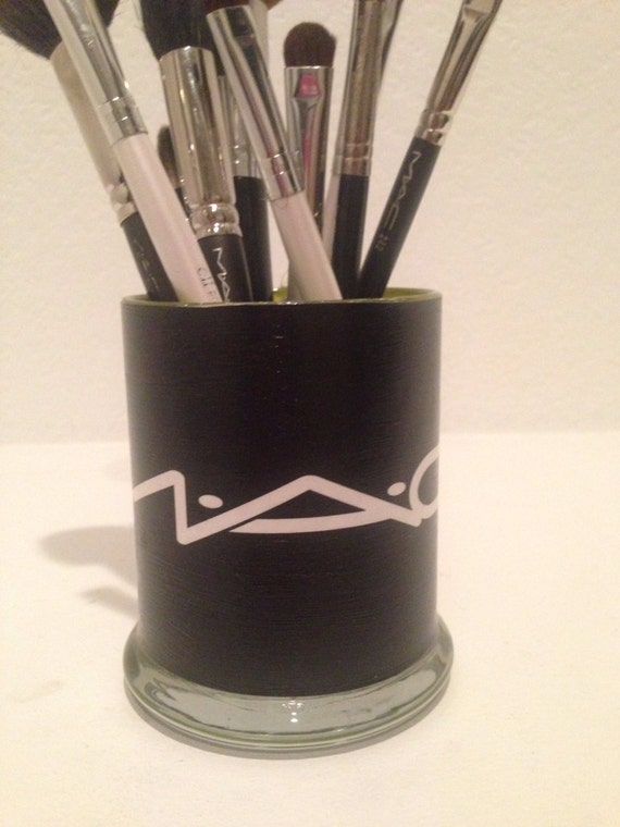 Mac Cosmetics Inspired Makeup Glass Holders