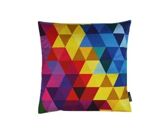 Pillow - spring 7 - geometric pattern