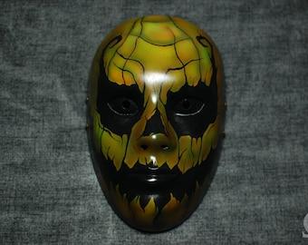 Pumpkin mask - satin finish