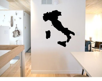 Map of Italy Wall Decal