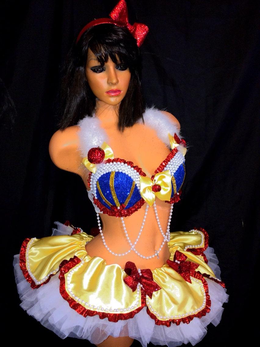Sexy snow white costume-5326