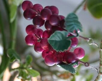 Grape Goddess Earrings