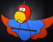 Kids Clothes hanger (trempel) - Parrot gift for kids children mom sister girlfriend kids him her friend