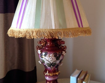 Not Your Gramma's Rococo Lamp!