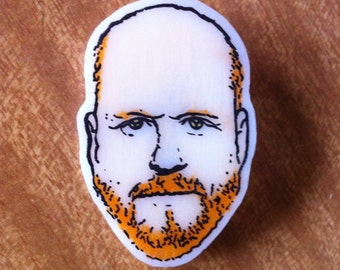 Joss Whedon Tribute Whedonite Brooch / Badge