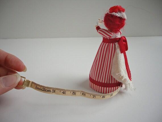 Tape measure doll vintage