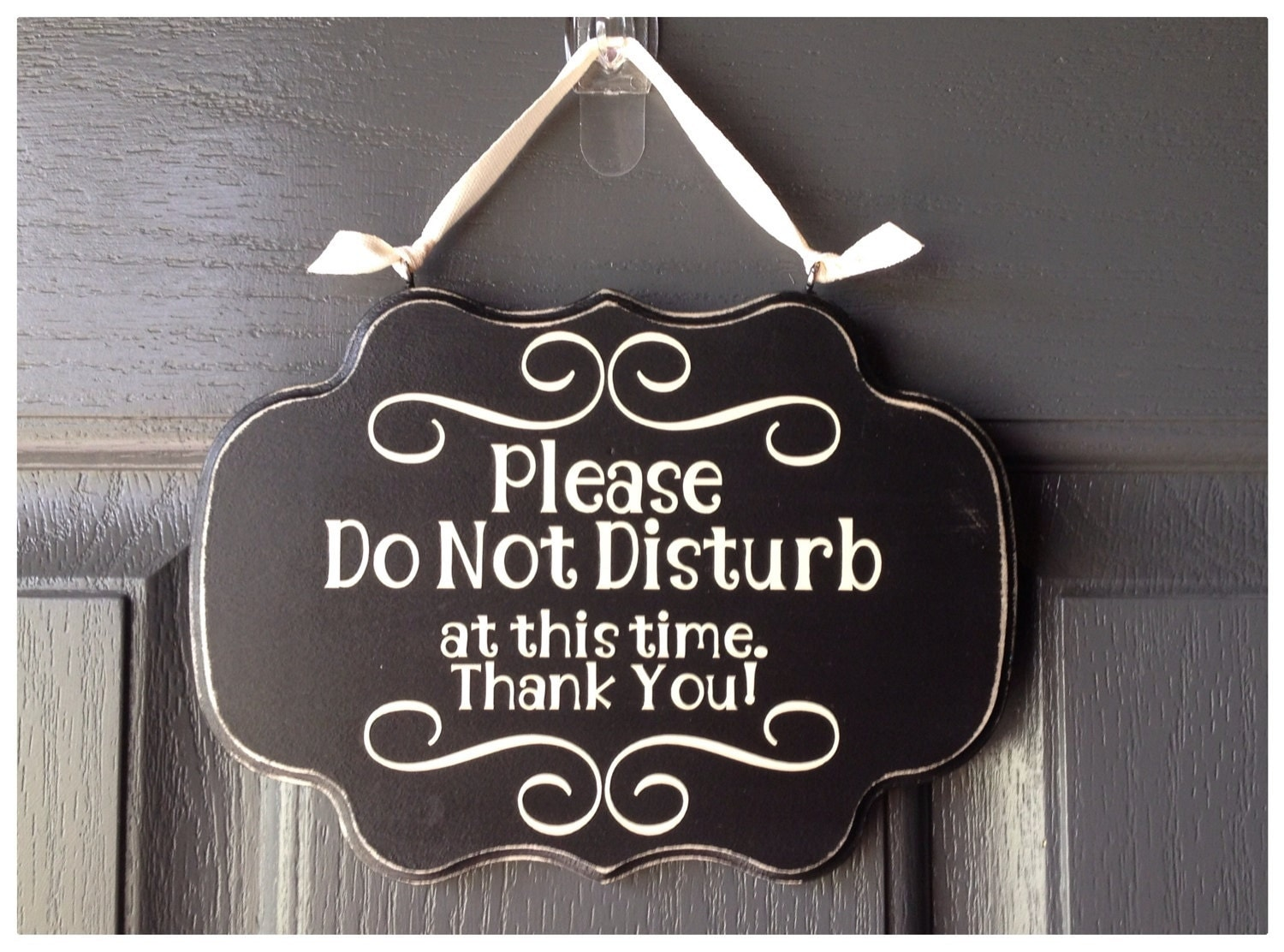 please do not disturb at this time thank you sign by