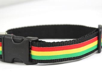 Rasta Doggy Collar