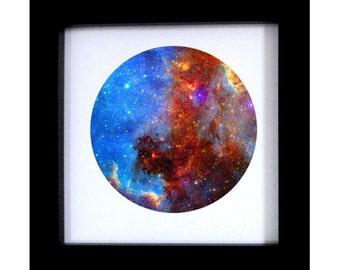 Fine art Space print.  Nebula photography. Cosmos art home decor wall art. cosmos photography.