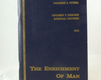 The Enrichment of Man 1964