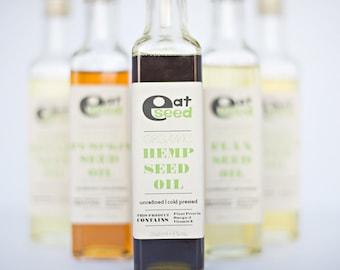 Organic Hemp Seed Oil – 8 fl oz