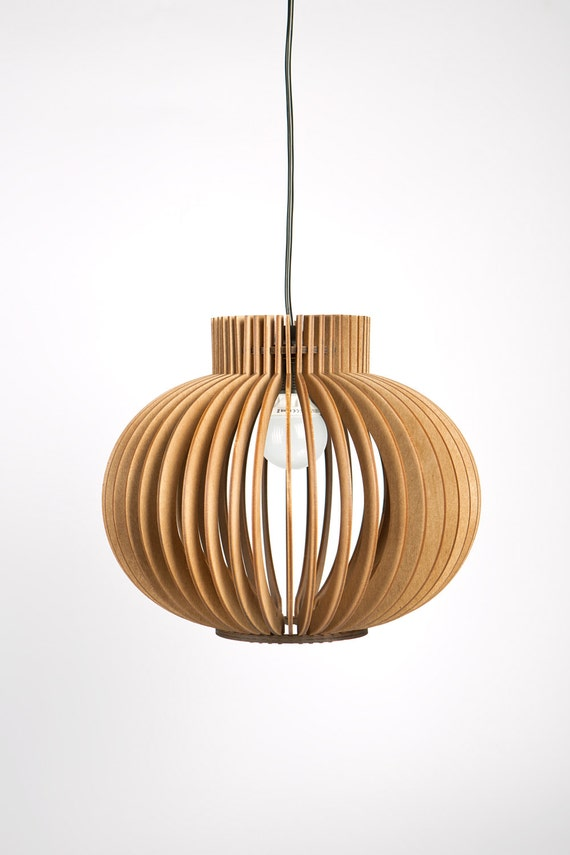Scandinavian Style Wooden Hanging Lamp Lighting Design