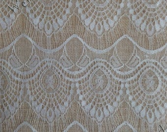Wedding fabric, eyelash lace fabric, floral lace, dress fabric, fabric lace, Dress lace vogue lace fabric table lace  ST61495