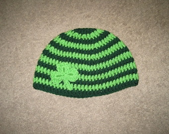 Custom Crochet St Patrick's Day Hat