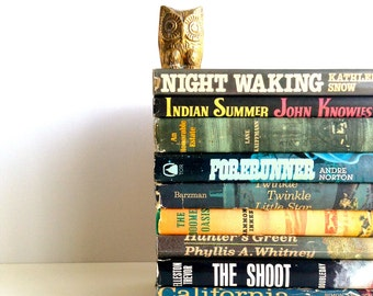 Vintage Fiction & Sci-Fi Book Collection - 1959-1981 - Lot Of 10 Books