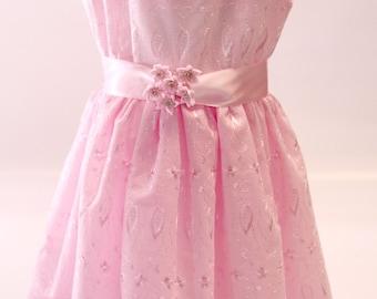 Pink Cotton Dress ; style 847