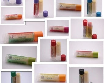 Lip Balm of the Month Club. 3 Months of Lip Balm Shipped Every Month. Made in Utah. Organic Ingredients.
