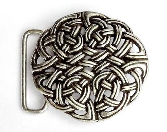 Buckle with Celtic knotwork - [09 Buck 4 KK:]