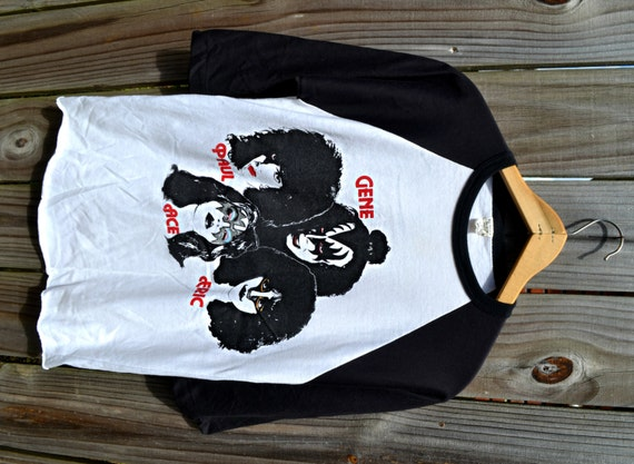 Kiss Vintage T Shirts 87
