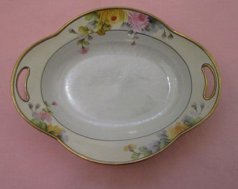 Antique serving bowl