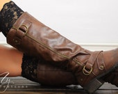 Womens Lace Boot Cuffs, Black Lace Boot Toppers, Womens Boot Cuffs, Womens Accessories, Fall, My Fashion Creations, Lace Cuff, Leg Warmers