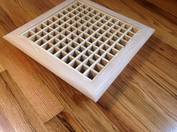 Items similar to custom size drop in style hvac unfinished for 6x12 wood floor register