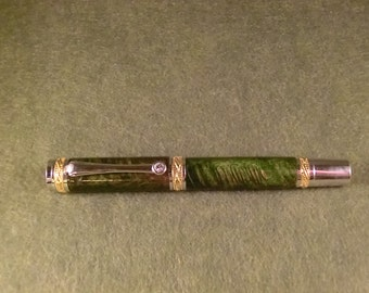 Majestic Hand Made Wooden  Rollerball Pen