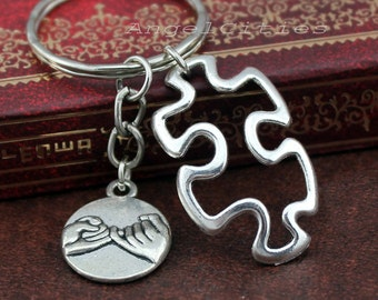 Popular Items For Puzzle Keychain On Etsy