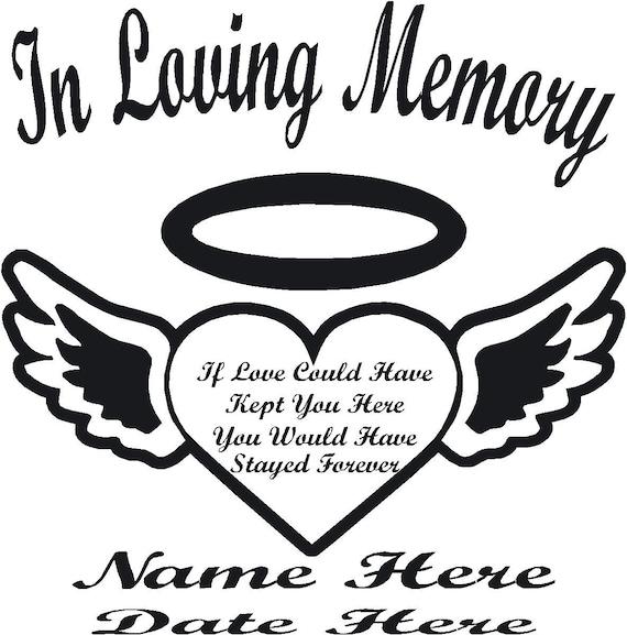 In Loving Memory Hearts