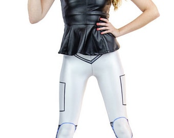 New designer leggings - Funkyleggzis Cyborg - sizes s, m, l, xl