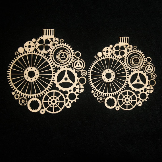 Steampunk Ornaments