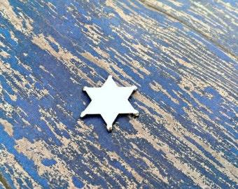 Aluminum Sheriff's Badge Stamping Blanks - 14G Aluminum