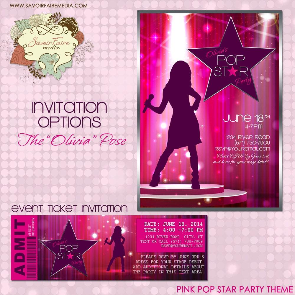 Comfortable Karaoke Party Invitations Ideas - Invitation Card ...